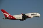 さもんほうさくさんが、シドニー国際空港で撮影したカンタス航空 A380-842の航空フォト(写真)