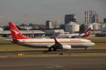 さもんほうさくさんが、シドニー国際空港で撮影したカンタス航空 737-838の航空フォト(写真)