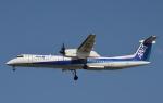 鉄バスさんが、福岡空港で撮影したANAウイングス DHC-8-402Q Dash 8の航空フォト(写真)