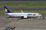 みるぽんたさんが、羽田空港で撮影したスカイマーク 737-86Nの航空フォト(写真)