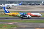 みるぽんたさんが、羽田空港で撮影した全日空 777-281/ERの航空フォト(写真)