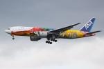 じゃじゃ丸さんが、羽田空港で撮影した全日空 777-281/ERの航空フォト(写真)