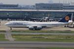 みるぽんたさんが、羽田空港で撮影したルフトハンザドイツ航空 747-830の航空フォト(写真)