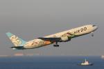 みるぽんたさんが、羽田空港で撮影したAIR DO 767-381の航空フォト(写真)