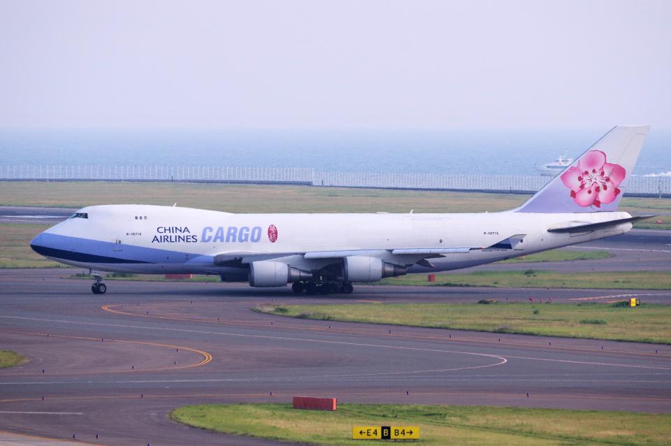 yabyanさんのチャイナエアライン Boeing 747-400 (B-18716) 航空フォト