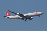 やつはしさんが、成田国際空港で撮影したスイスインターナショナルエアラインズ A340-313Xの航空フォト(写真)
