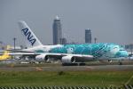 turenoアカクロさんが、成田国際空港で撮影した全日空 A380-841の航空フォト(写真)