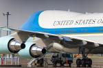 SGR RT 改さんが、羽田空港で撮影したアメリカ空軍 VC-25A (747-2G4B)の航空フォト(写真)