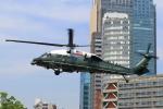 たまさんが、赤坂プレスセンターで撮影したアメリカ海兵隊 VH-60N White Hawk (S-70A)の航空フォト(写真)