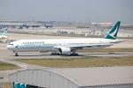 代打の切札さんが、関西国際空港で撮影したキャセイパシフィック航空 777-367の航空フォト(写真)