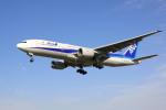 けいとパパさんが、伊丹空港で撮影した全日空 777-281/ERの航空フォト(写真)