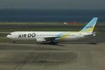 SIさんが、羽田空港で撮影したAIR DO 767-381の航空フォト(写真)