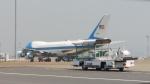 SHOさんが、羽田空港で撮影したアメリカ空軍 VC-25A (747-2G4B)の航空フォト(写真)