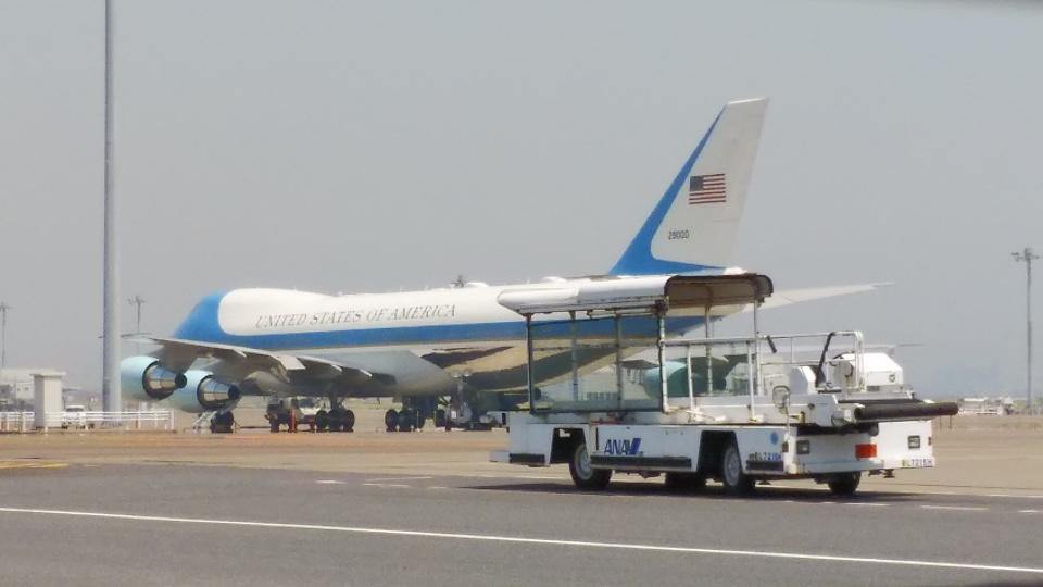 SHOさんのアメリカ空軍 Boeing 747-200 (92-9000) 航空フォト