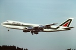 tassさんが、成田国際空港で撮影したアリタリア航空 747-243Bの航空フォト(写真)