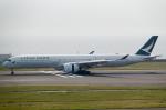 zibaさんが、中部国際空港で撮影したキャセイパシフィック航空 A350-1041の航空フォト(写真)