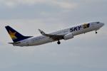 牡丹さんが、中部国際空港で撮影したスカイマーク 737-86Nの航空フォト(写真)