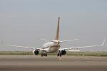 小牛田薫さんが、羽田空港で撮影した南山公務 737-7ZH BBJの航空フォト(写真)