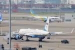 小牛田薫さんが、羽田空港で撮影したアメリカ空軍 757-2Q8の航空フォト(写真)