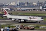 akinarin1989さんが、羽田空港で撮影したカタール航空 A340-313Xの航空フォト(写真)