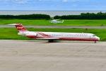 はるかのパパさんが、新潟空港で撮影した遠東航空 MD-83 (DC-9-83)の航空フォト(写真)