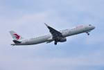 mojioさんが、静岡空港で撮影した中国東方航空 A321-211の航空フォト(飛行機 写真・画像)