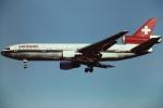 tassさんが、成田国際空港で撮影したスイス航空 DC-10-30の航空フォト(写真)