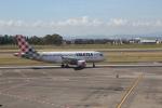 ilv583さんが、カターニア・フォンターナロッサ空港で撮影したボロテア A319-111の航空フォト(写真)