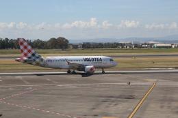 ilv583さんが、カターニア・フォンターナロッサ空港で撮影したボロテア A319-111の航空フォト(飛行機 写真・画像)