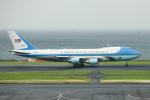 kuraykiさんが、羽田空港で撮影したアメリカ空軍 VC-25A (747-2G4B)の航空フォト(写真)