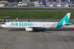 いおりさんが、福岡空港で撮影したエアソウル A321-231の航空フォト(写真)