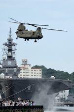 うめやしきさんが、横須賀港で撮影したアメリカ陸軍 CH-47Fの航空フォト(飛行機 写真・画像)