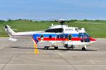 VOXY2005さんが、福島空港で撮影した国土交通省 地方整備局 AS332L2 Super Puma Mk2の航空フォト(写真)