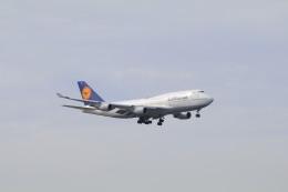 しかばねさんが、シアトル タコマ国際空港で撮影したルフトハンザドイツ航空 747-430の航空フォト(飛行機 写真・画像)