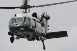 banshee02さんが、横須賀基地で撮影したアメリカ海兵隊 VH-60N White Hawk (S-70A)の航空フォト(飛行機 写真・画像)