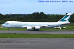 いおりさんが、成田国際空港で撮影したキャセイパシフィック航空 747-867F/SCDの航空フォト(写真)