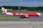 いおりさんが、成田国際空港で撮影したインドネシア・エアアジア・エックス A330-343Xの航空フォト(写真)