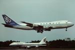 tassさんが、成田国際空港で撮影したオリンピックエアウェイズ 747-284Bの航空フォト(飛行機 写真・画像)