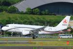 臨時特急7032Mさんが、福岡空港で撮影したサニー・グループ A319-115CJの航空フォト(写真)