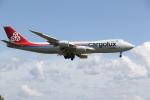 ゴンタさんが、小松空港で撮影したカーゴルクス 747-8R7F/SCDの航空フォト(写真)