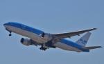 鉄バスさんが、関西国際空港で撮影したKLMオランダ航空 777-206/ERの航空フォト(写真)
