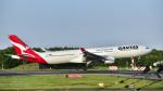 パンダさんが、成田国際空港で撮影したカンタス航空 A330-303の航空フォト(写真)