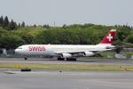 eagletさんが、成田国際空港で撮影したスイスインターナショナルエアラインズ A340-313Xの航空フォト(写真)
