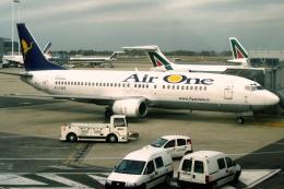 Hiro-hiroさんが、レオナルド・ダ・ヴィンチ国際空港で撮影したエア・ワン 737-300の航空フォト(飛行機 写真・画像)