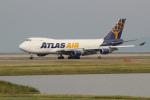 OMAさんが、岩国空港で撮影したアトラス航空 747-47UF/SCDの航空フォト(飛行機 写真・画像)