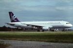 tassさんが、ロンドン・ガトウィック空港で撮影したエクスカリバー・エアウェイズ A320-212の航空フォト(飛行機 写真・画像)