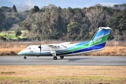 kumagorouさんが、五島福江空港で撮影したオリエンタルエアブリッジ DHC-8-201Q Dash 8の航空フォト(飛行機 写真・画像)