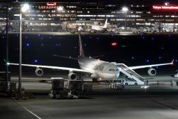 Snowman☃️さんが、羽田空港で撮影したカタールアミリフライト A340-313Xの航空フォト(飛行機 写真・画像)