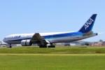 ま~くんさんが、仙台空港で撮影した全日空 777-281/ERの航空フォト(写真)