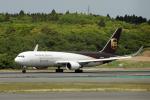 eagletさんが、成田国際空港で撮影したUPS航空 767-34AF/ERの航空フォト(写真)